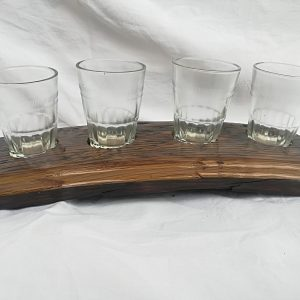 Drveni stalak za čašice